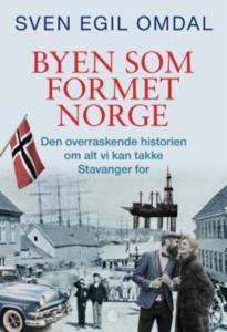 """Forsiden til boken """"Byen som formet Norge"""""""
