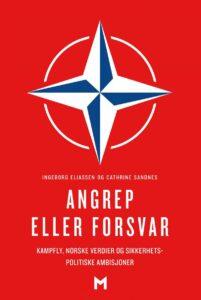 Forsiden til boken Angrep eller forsvar av Ingeborg Eliassen og Cathrine Sandnes