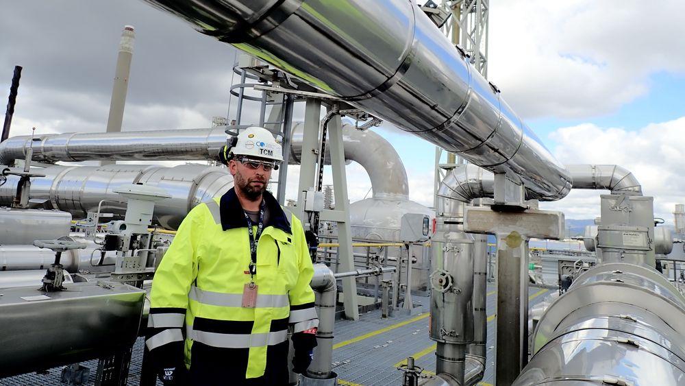HMS-ingeniør Terje Niøten Nilsen, Teknologisenter Mongstad